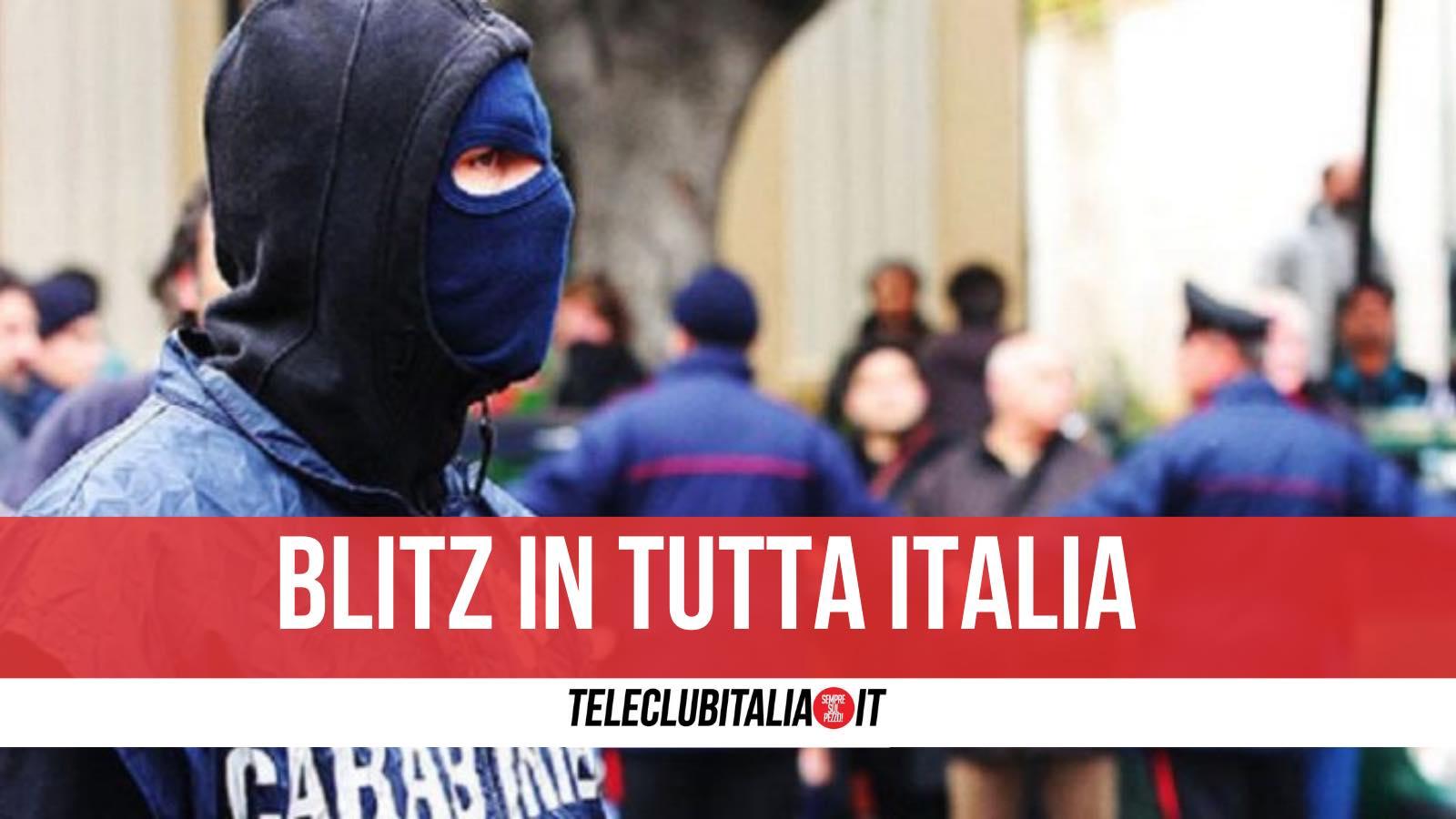 sicilia 85 arresti oggi nomi partinico palermo