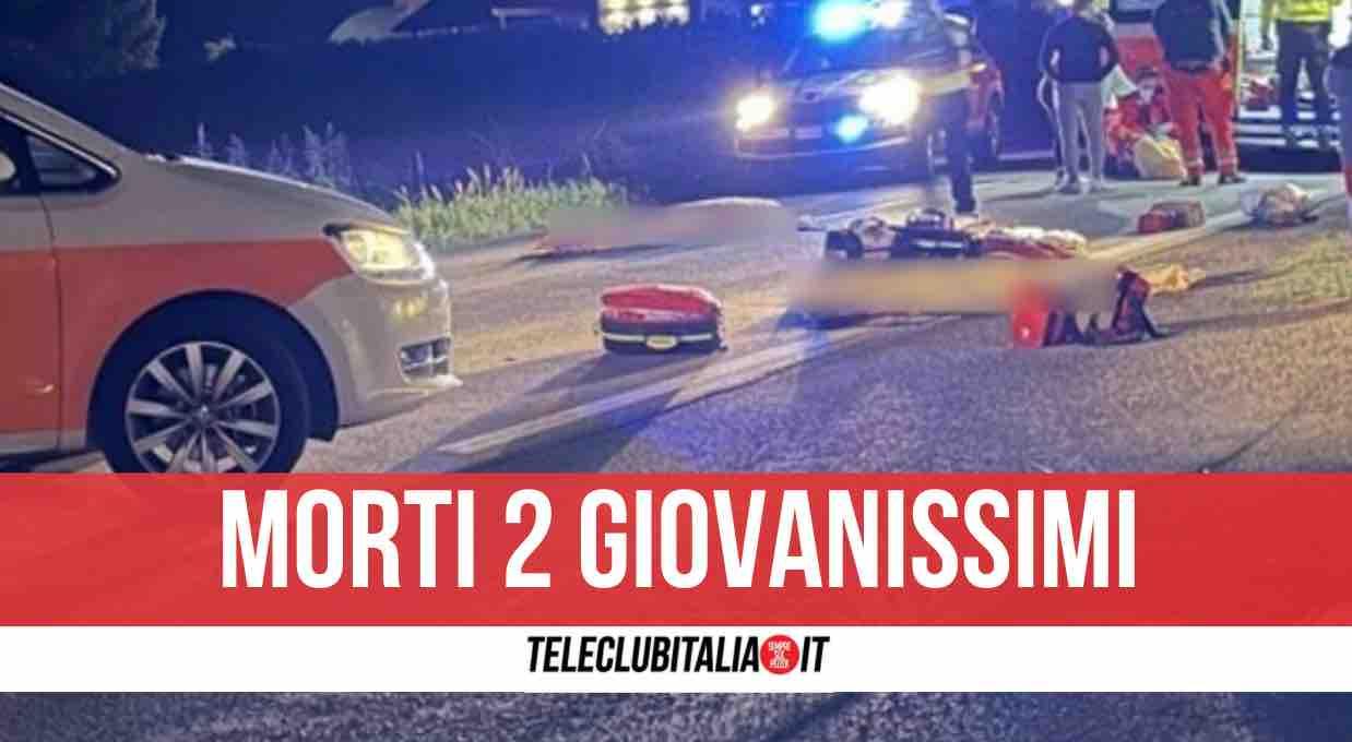 carponeto incedente morti due giovani