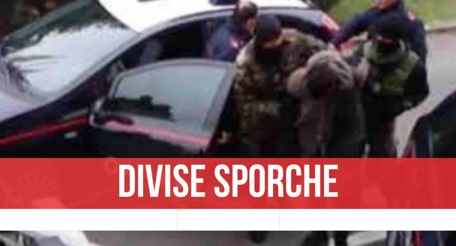 arrestati carabinieri fuorigrotta
