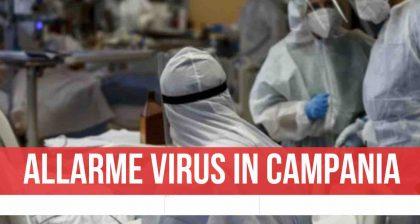 Allarme in Campania, quasi 500 nuovi contagi: i dati del bollettino di oggi