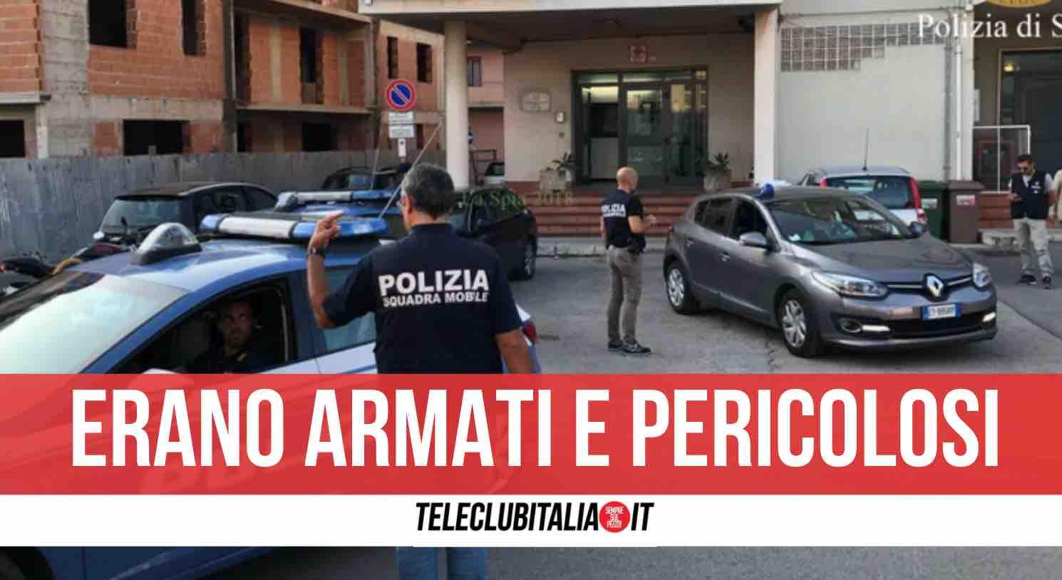 rapinatori arrestati ponticelli