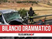 sicilia incidente morta 21enne
