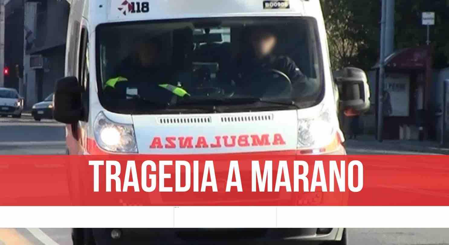 marano muore 56enne