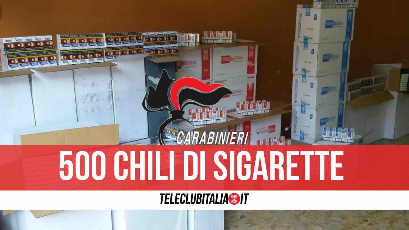 arresto qualiano sigarette contrabbando