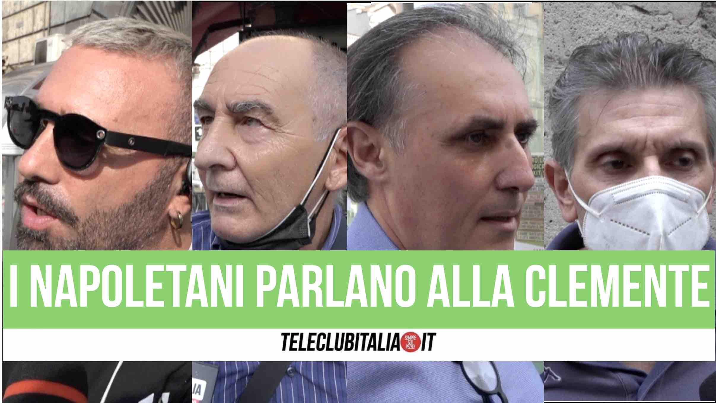 clemente alessandra sindaco di napoli comunali amministrative