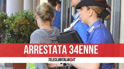 Giugliano, sorpresa mentre consegna la droga a un cliente: arrestata pusher 34enne