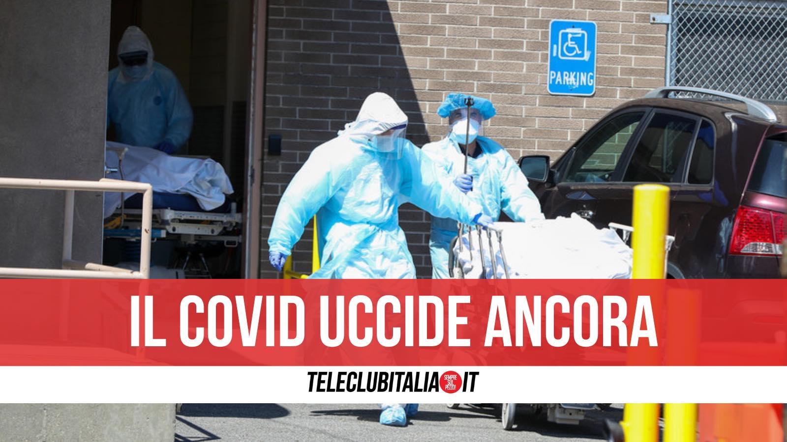 morto covid caserta non era vaccinato