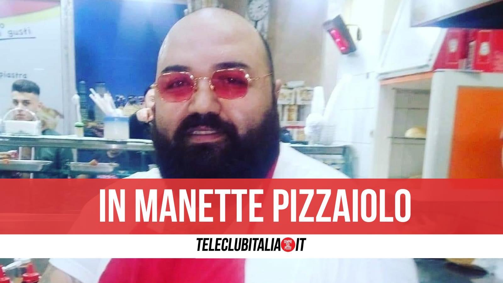 pizzaiolo arrestato michele capuozzo portico caserta