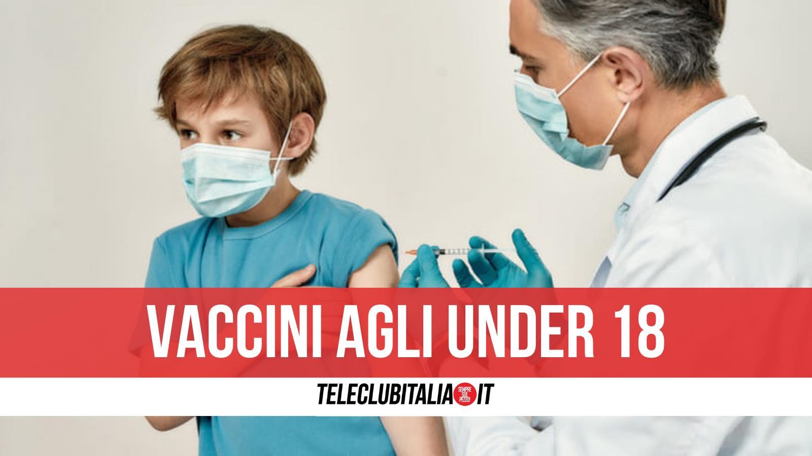 vaccini under 18 campania
