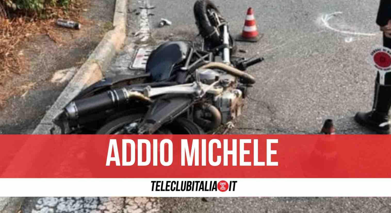 incidente morto Michele Mancarella Pinto