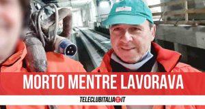 Luigi Manfuso morto operaio