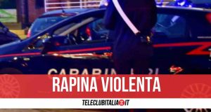 rapina sant'antimo carabinieri