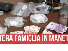 pozzuoli arrestata famiglia droga