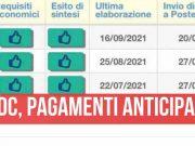 reddito di cittadinanza pagamenti settembre anticipati