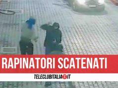 napoli arrestati rapinatori