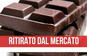 cioccolato Carrefour ritirato dal mercato