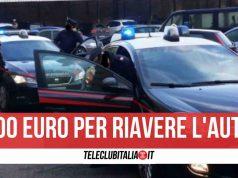 pozzuoli cavallo di ritorno carabinieri