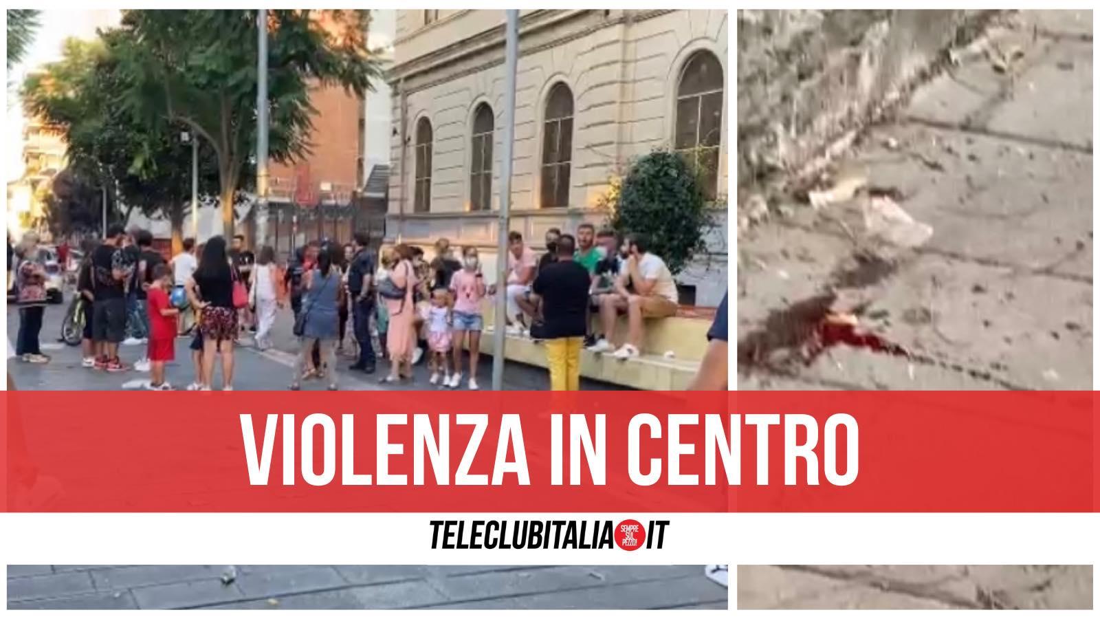 piazza gramsci violenza ferito ragazzo