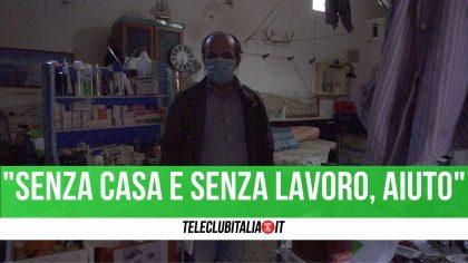 Senza lavoro e senza casa, la storia di Antonio: malto e abbandonato chiede aiuto