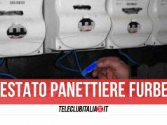sant'antonio abate furto corrente 100mila euro