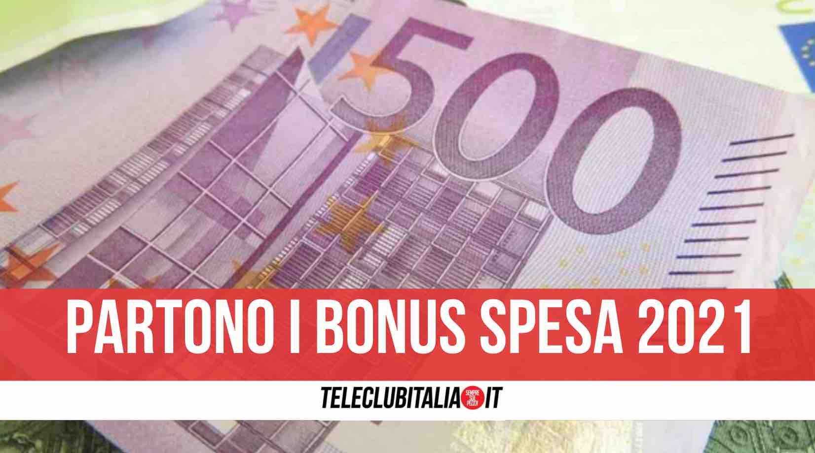 bonus spesa 2021 500 euro
