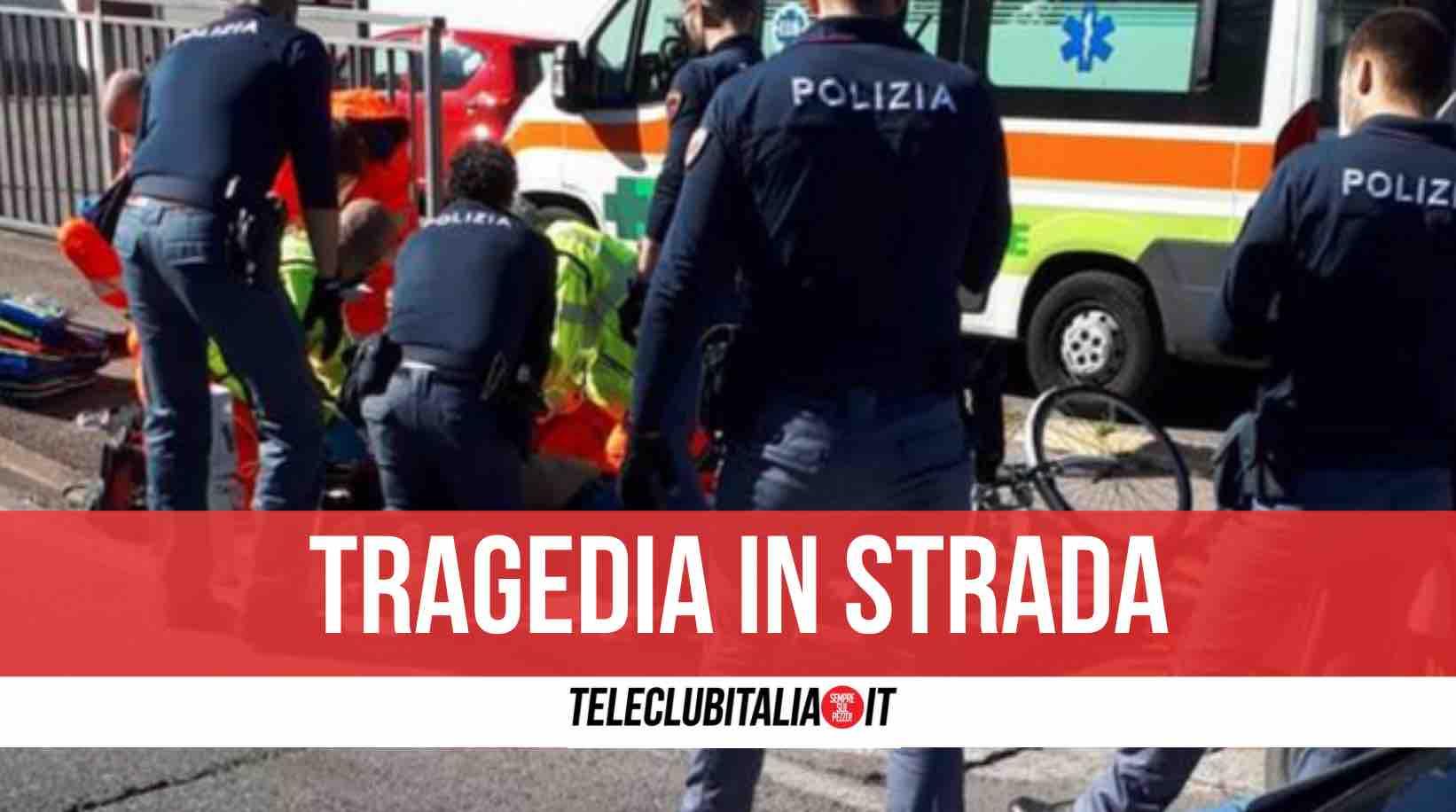 cardito muore 50enne in strada