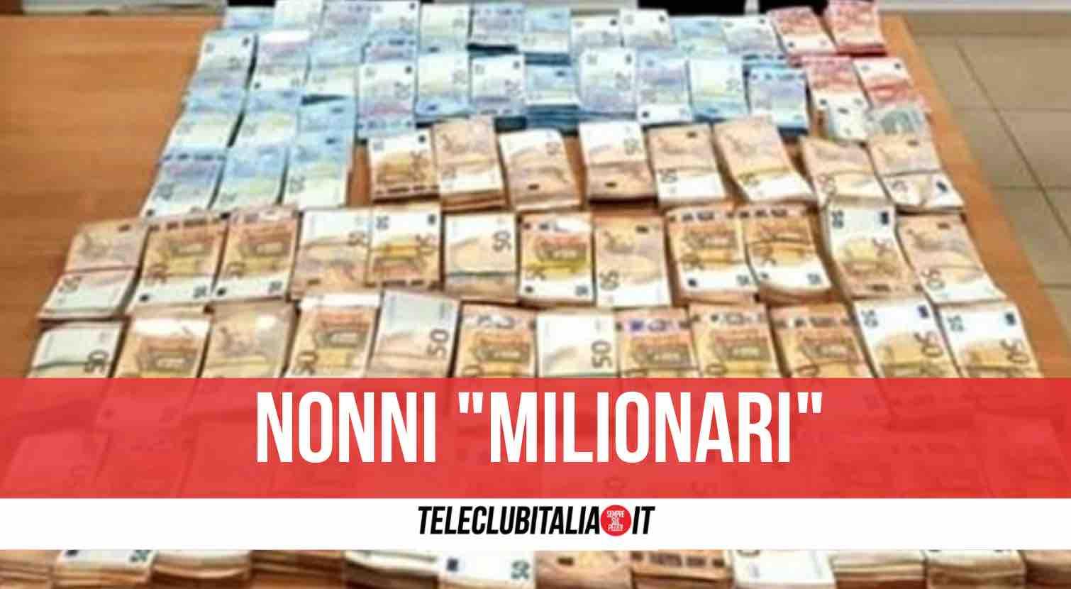 calabria sequestro 1,5 milioni di euro