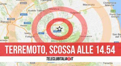 Prima il boato poi la scossa di terremoto, paura nel centro Italia