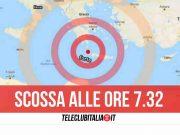 terremoto mar mediterraneo 19 ottobre