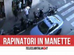 rapina napoli arresti polizia