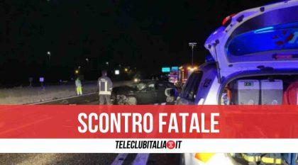 Tragico scontro nei pressi della Tangenziale di Napoli, un morto