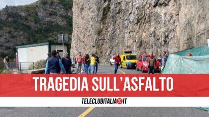 Campania, schianto tra scooter e minivan sulla statale: muore una ragazza di 17 anni