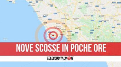 """Campi Flegrei, sciame sismico in corso. Comune e Protezione Civile: """"Seguiremo la situazione"""""""