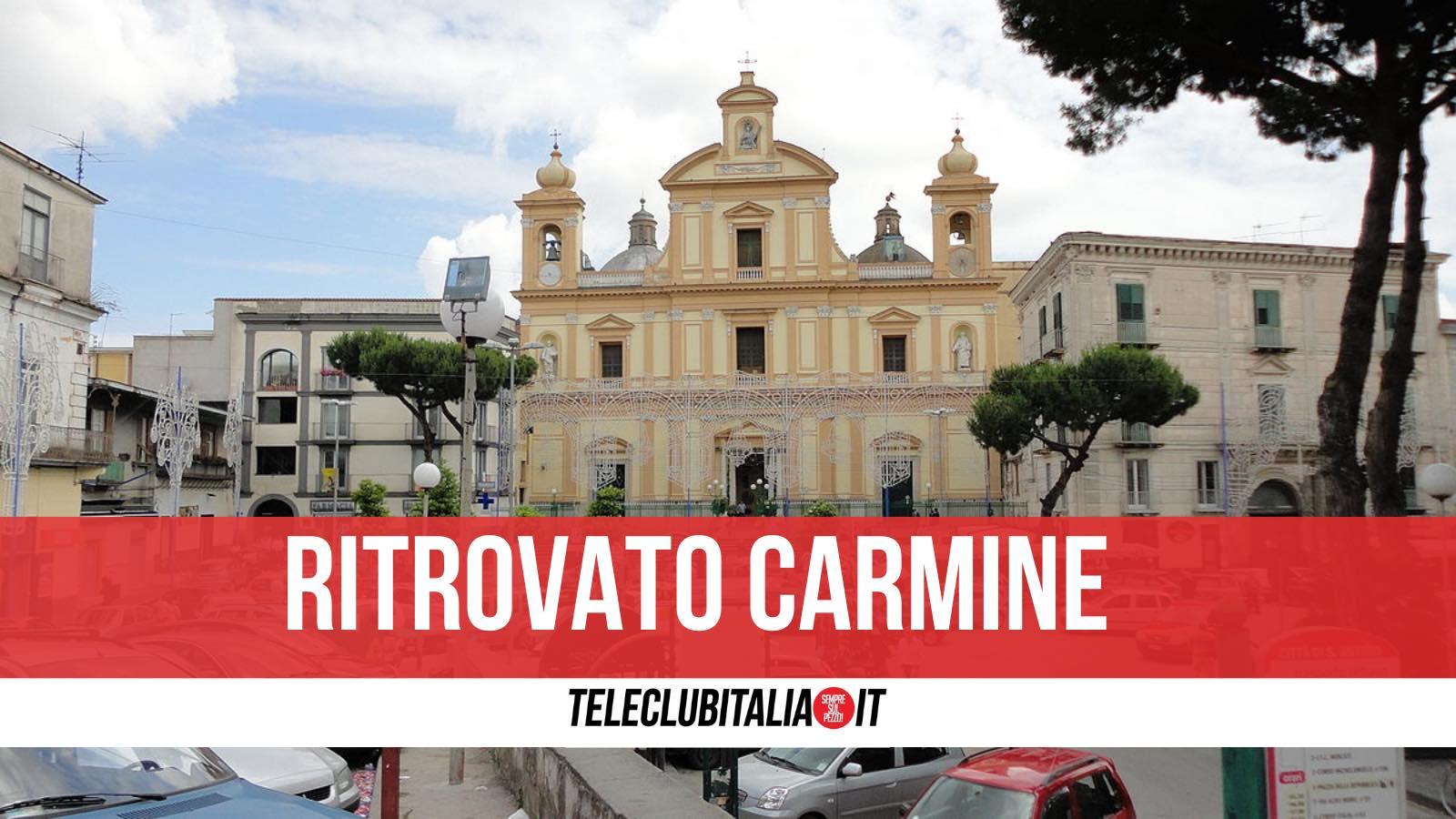 carmine ritrovato sant'antimo