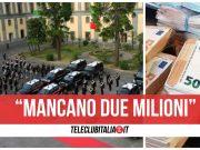 due milioni di euro caserma salvo d'acquisto