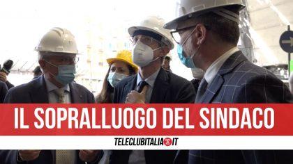 """Galleria Vittoria a Napoli, il sindaco Manfredi: """"Riapertura a dicembre"""""""