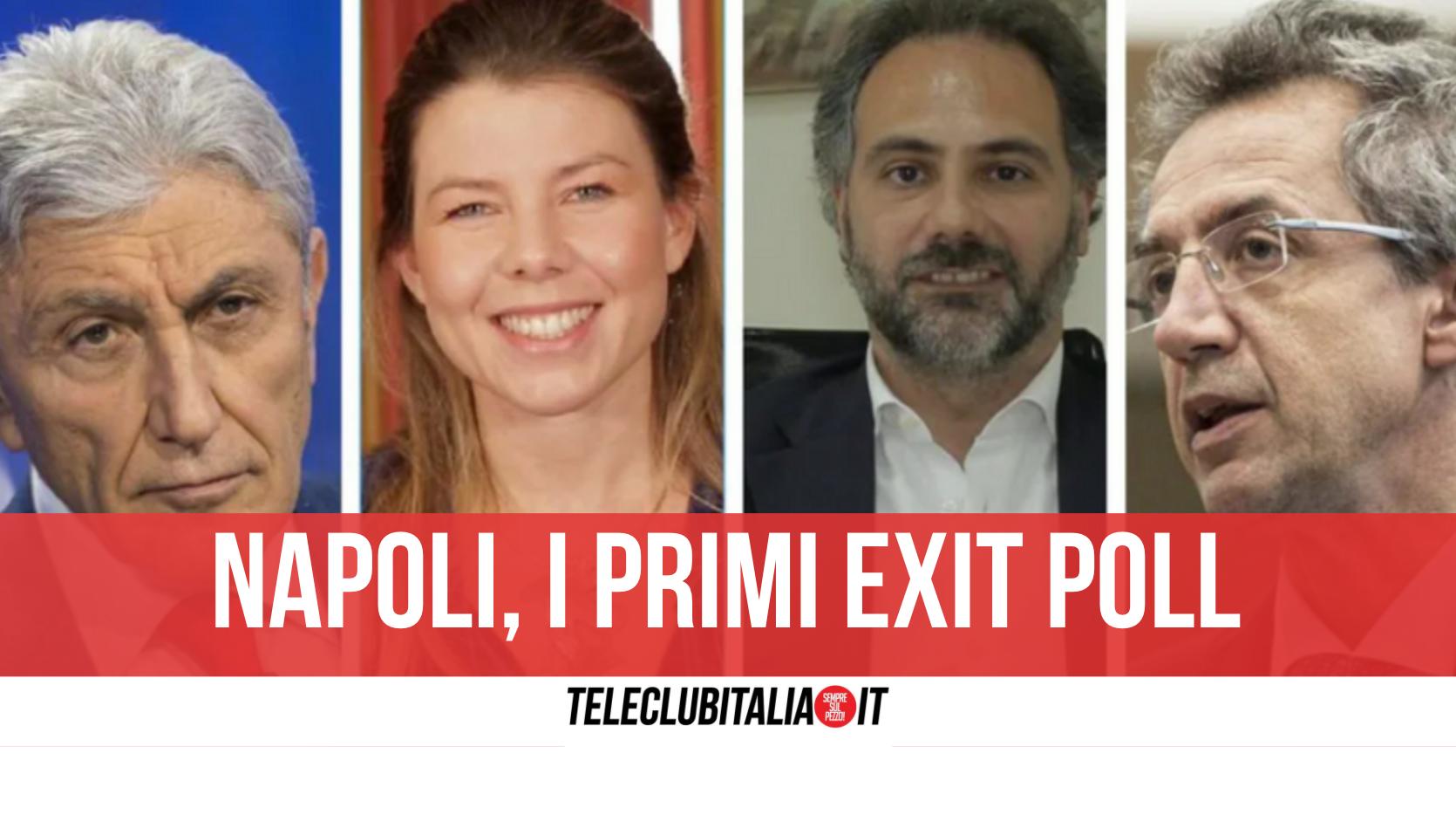 napoli exit poll
